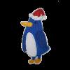 M0132 Blue Penguin 4.2x8.2cm