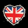 S0099 British Heart 6x5cm
