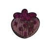M0027 Sequins Strawberry 6.3x6.3cm