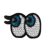 M0031 Cute Sequins eyes 7.5x5cm