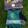 ถุงมือปั่นจักรยานโปรทีม Europcar : GP150100