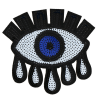 L0016 Huge sequins Eye 14.2x13.8cm