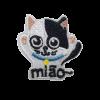 M0112 Cat miao 5.6x5.6cm
