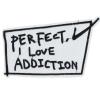 L0013 Perfect I love addiction ! 12.9x7.8cm