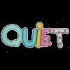 L0064 Quiet 25.6x9.5cm