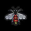 S0098 Bee Decoration 9.2x6.6cm