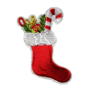 M0133 Candy Sock Christmas 6x8cm
