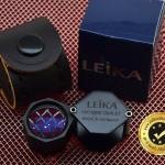 กล้องส่องพระ Leika 10x18mm สีดำ (บอดี้เหลี่ยม) เลนส์มาตรฐาน 3 ชั้น แท้