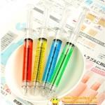 ปากกาเข็มฉีดยา ลูกลื่นน้ำเงิน 108บาท/โหล 12ชิ้น/โหล