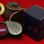 กล้องส่องพระ Leika 10x18 mm เลนส์มาตรฐาน 3 ชั้นแท้ (หุ้มยาง)
