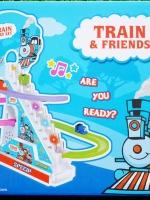 ของเล่นเด็ก รางรถไฟวิ่ง