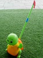 ของเล่นเด็ก ไม้เข็นเต่า