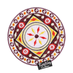 Custom Embroidered Art 5th