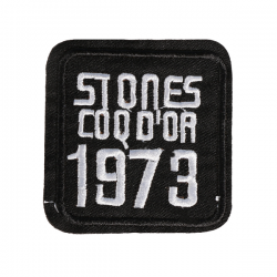 S0047 Stones Coq d'or 1973 Patch 5.3x5.3cm