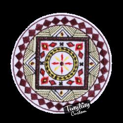 Custom Embroidered Art 7th
