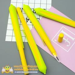 ปากกาข้าวโพด ราคา 108 บาท/แพค 12 ชิ้น/แพค