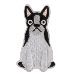 M0090 Boston Terrier Dog 3x6.5cm