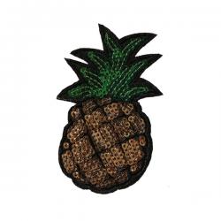 M0020 Sequins pineapple 4.5x8.5cm