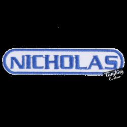 Custom NICHOLAS Name
