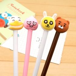 ปากกาหัวสัตว์(มี 3ลาย ลายหมีหมด) ราคา 96 บาท/แพค 12 ชิ้น/แพค