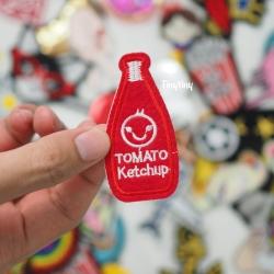 S0020 Ketchup 3.3cmx6.8cm