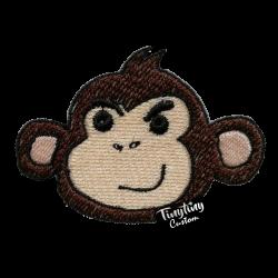 Custom Brown Monkey
