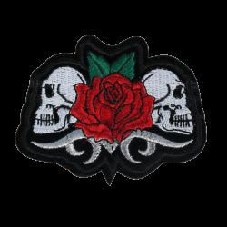 L0028 Rose skulls 10x7.6cm