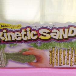 ทรายไฮเทครุ่นใหม่ สีเขียว Kinetic sand