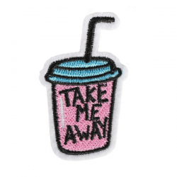 S0041 Take Me Away Cup Patch