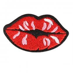 S0035 Red Lip Mouth 6.7cmx3.6cm