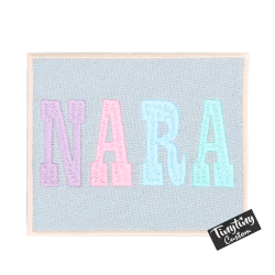 Custom Letter Pastel NARA