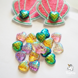 Mermaid Heart decorations