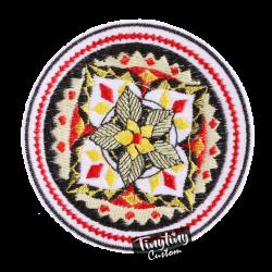Custom Embroidered Art 6th