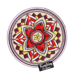 Custom Embroidered Art 4th