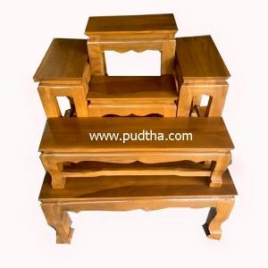 โต๊ะหมู่บูชาไม้สัก หน้า 5 หมู่ 5