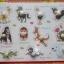 จิ๊กซอว์หมุดไม้ชุดสัตว์11ชนิดและคำศัพท์ มีพื้นหลัง ขนาด 30X20 เซนติเมตร thumbnail 5
