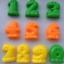 แม่พิมพ์เล่นทราย ชุดตัวเลข 0-9 thumbnail 1
