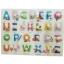 จิ๊กซอว์หมุดไม้ชุดตัวอักษรพิมพ์ใหญ่ A - Z การ์ตูน ขนาด 30X20 เซนติเมตร thumbnail 1
