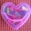 ร้อยเชือกบล๊อกไม้ รูปสัตว์และผลไม้ กล่องรูปหัวใจสีชมพู thumbnail 3