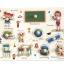 จิ๊กซอว์ไม้หมุด ชุดในห้องเรียนและคำศัพท์ มีพื้นหลัง ขนาด 30x20 เซนติเมตร thumbnail 2