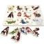 จิ๊กซอว์หมุดไม้ชุดสัตว์11ชนิดและคำศัพท์ มีพื้นหลัง ขนาด 30X20 เซนติเมตร thumbnail 3