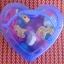 ร้อยเชือกบล๊อกไม้ รูปสัตว์และผลไม้ กล่องรูปหัวใจสีฟ้า thumbnail 2