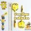 ปากกาพัดลม ลายมินเนี่ยน (เจลน้ำเงิน) 144บาท/โหล 12ชิ้น/โหล thumbnail 2