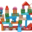 บล๊อกหยอดไม้สร้างเมือง สร้างปราสาท 52 ชิ้น thumbnail 2