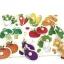 จิ๊กซอว์หมุดไม้ชุดผักน่ารู้ มีพื้นหลัง ขนาด 30X20 เซนติเมตร thumbnail 4