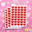 สติ๊กเกอร์หัวใจสีแดง 14บาท/แพ็ค 10ชิ้น/แพ็ค thumbnail 5