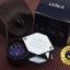 กล้องส่องพระ Leika 10x21 mm ทรงเหลี่ยมสีเงินโครเมี่ยมก้านดำ เลนส์มาตรฐาน 3 ชั้น แท้ thumbnail 3