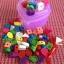 ร้อยเชือกบล๊อกไม้ รูปสัตว์และผลไม้ กล่องรูปหัวใจสีชมพู thumbnail 1