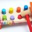 ของเล่นไม้ ชุดค้อนตอกแท่งไม้หลากสี thumbnail 4