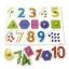 จิ๊กซอว์หมุดไม้ชุดตัวเลข 1 - 10 และรูปทรง มีพื้นหลัง ขนาด 30x20 เซนติเมตร thumbnail 2